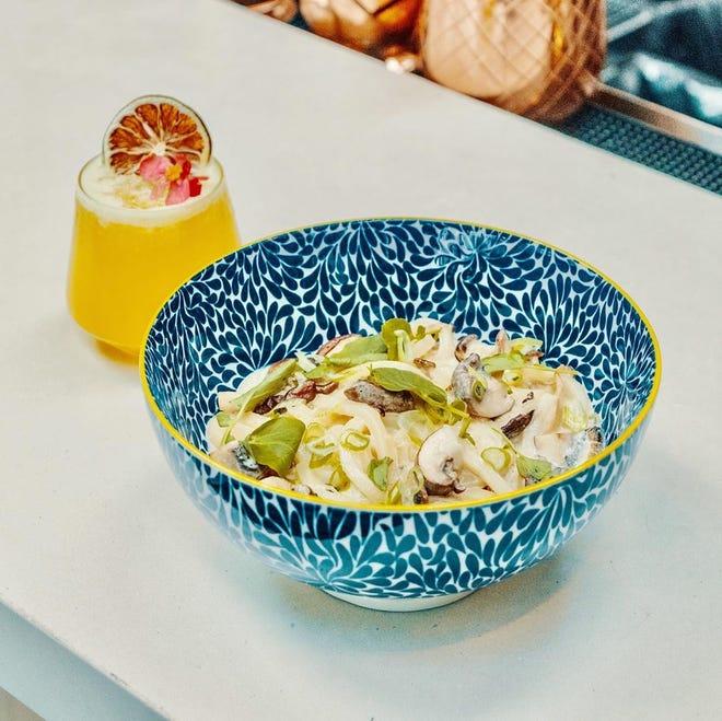 Planta's truffle udon noodles. PLANTA