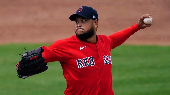Eduardo Rodríguez won't take the mound when the Red Sox open the season on Thursday.