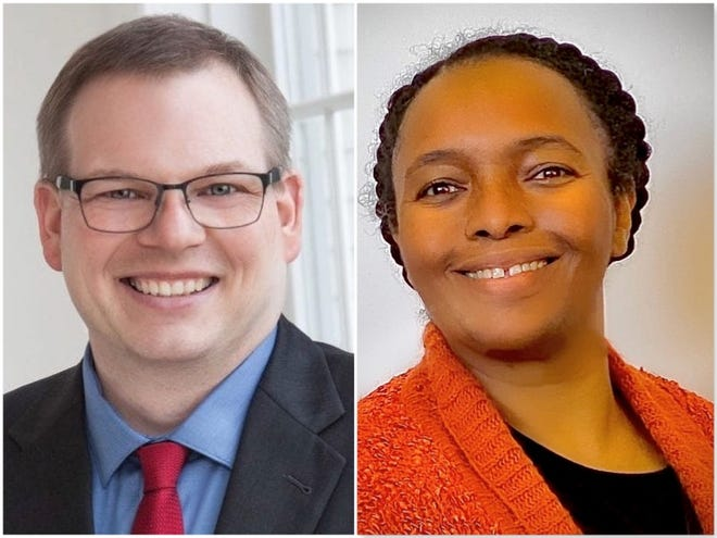 Voters will decide during the April 6 election between Democrat Aprel Prunty and Republican Jerry Wells who will represent the 6th Ward in south Rockford.