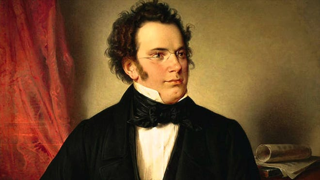 """Franz Schubert composed """"Death and the Maiden"""" four years before his death. It will be performed in Gustav Mahler's string orchestra arrangement by the Sarasota Orchestra."""