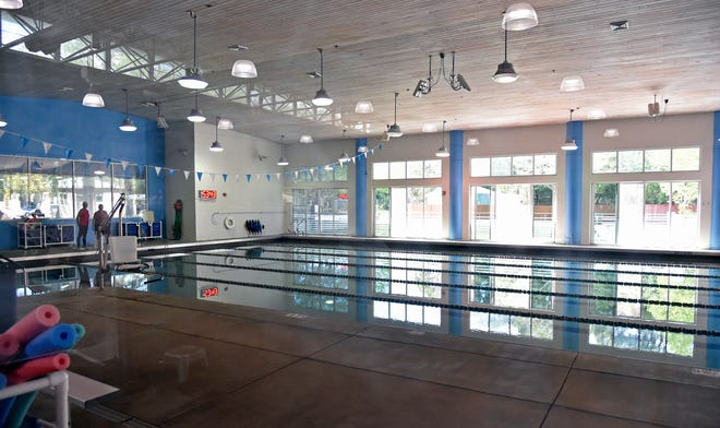 The indoor pool at the Berlin Branch of Our Y in Sarasota.