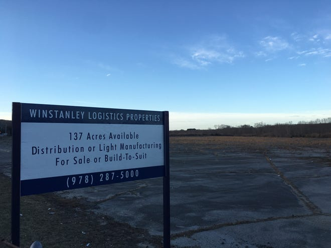 The Lathrop Road property in Plainfield set to become home to a new Amazon distribution facility.
