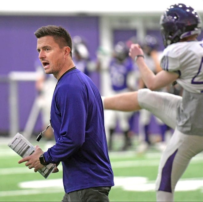 Holy Cross football coach Bob Chesney and the Crusaders will have to wait a little bit longer for their home opener this spring.
