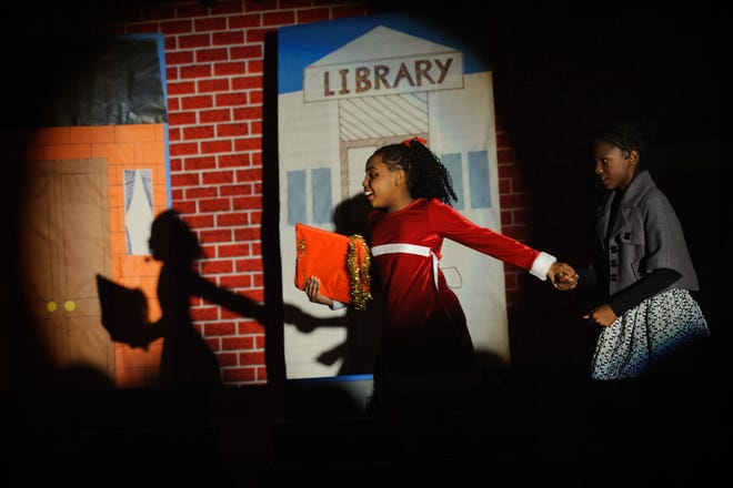 """Students perform in the play, """"Yes, Virginia: The Musical"""" at C. Wayne Collier Elementary in Hope Mills in 2013."""