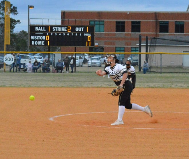 Through two games, Gray's Creek junior Madi Bagley is 2-0 in the pitcher's circle with 25 strikeouts and has only allowed one hit.