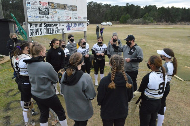 Seven seasons after reaching 100 wins at Gray's Creek, Bears softball coach Stuart Gilmer has surpassed 200 career victories with the program.