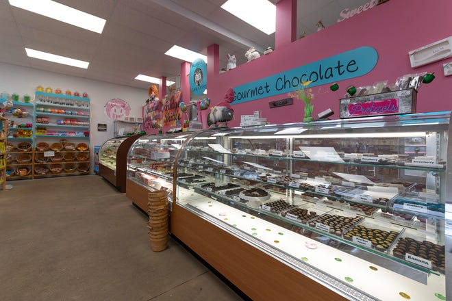 Maggie's Candy Kitchen and Bakery, 965 West Highway 50, features dozens of sweet treats and baked goods. The shop is owned by sisters Nettie Williams and Pennie Gaudi and is named in honor of their late mother Maggie Gaudi who began making candy and baking in 1960.