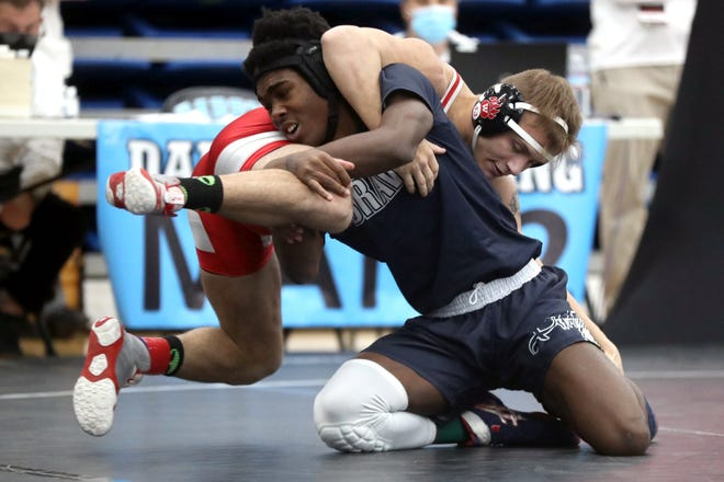 Whetstone senior Darric McClinton went 0-2 in his first appearance in the state tournament, finishing the season 19-3. McClinton also won four City League championships for the Braves.