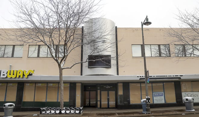 The Park Central property at 318 W. College Ave. in Appleton has been vacant for years.