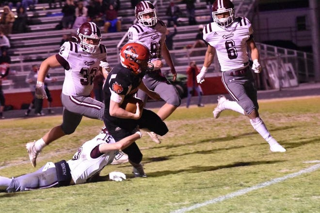 Andrews senior running back Gavin Wilson has been a key cog in the Wildcats turnaround under coach James Phillips.