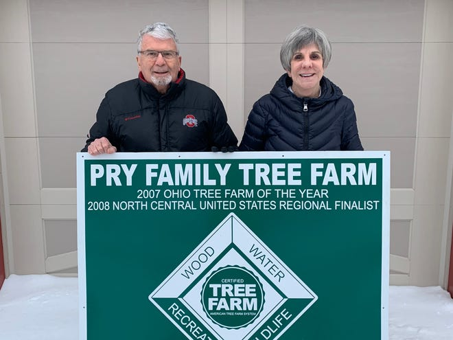 Jim and Janet Pry have been tree farmers in Crawford County since 1976.