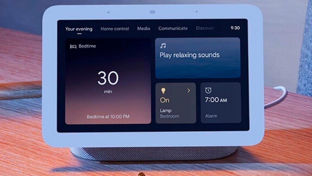 Google gets into sleep surveillance with new Nest Hub screen 2