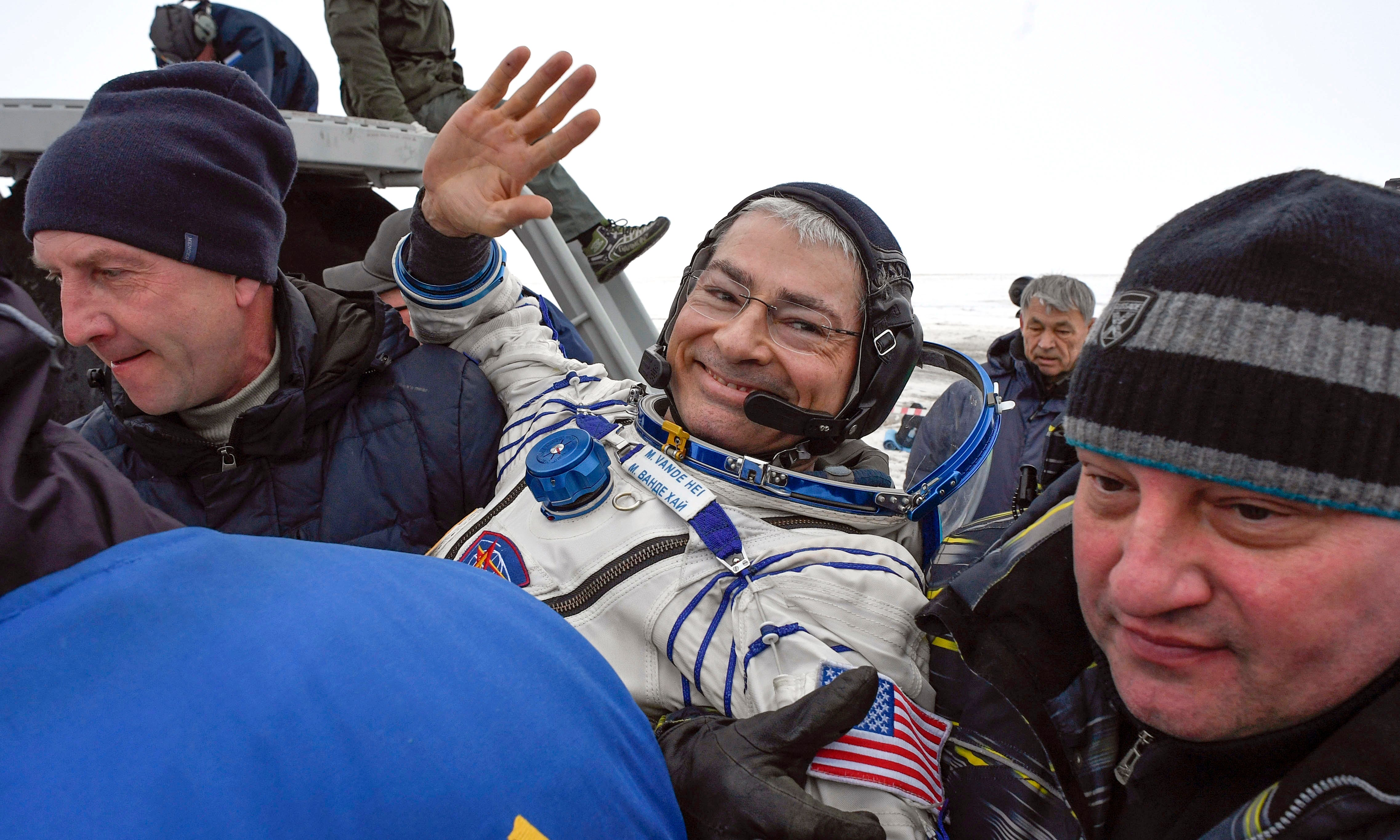 US astronaut launching next month may spend year in space 2