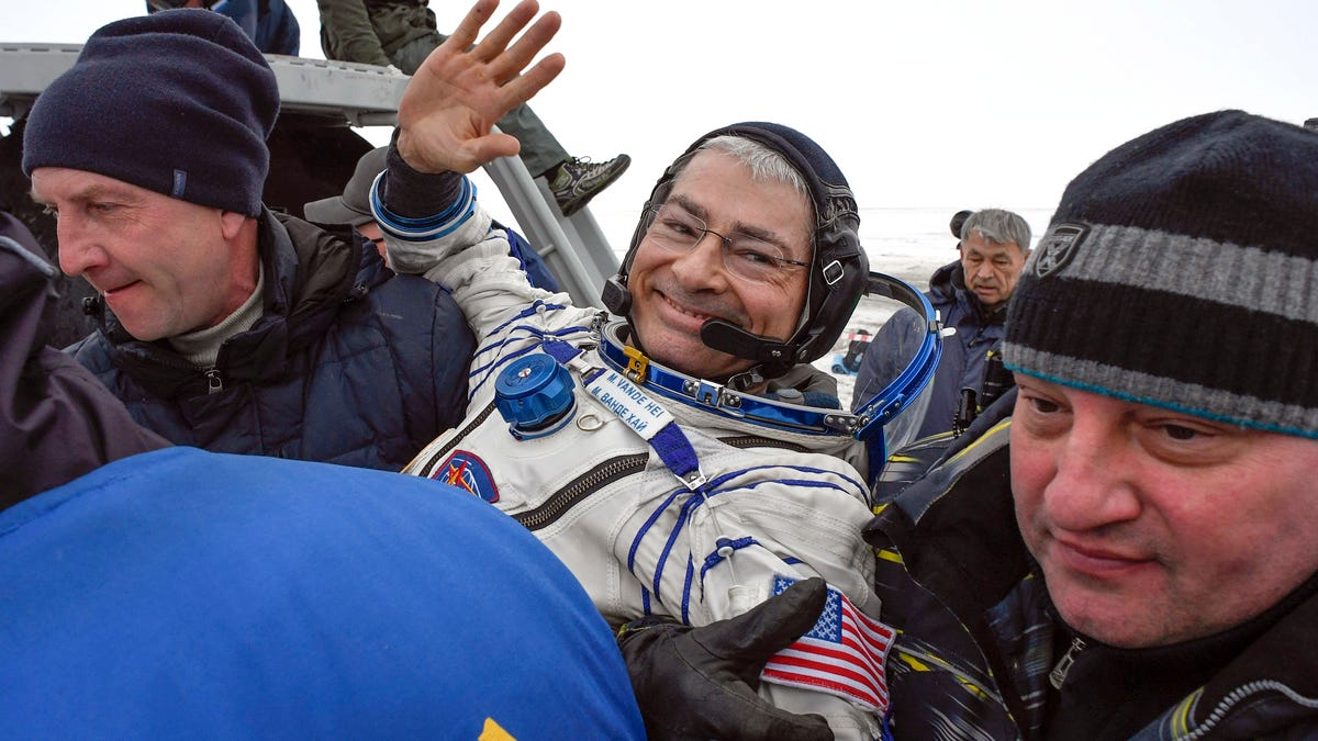 US astronaut launching next month may spend year in space 3