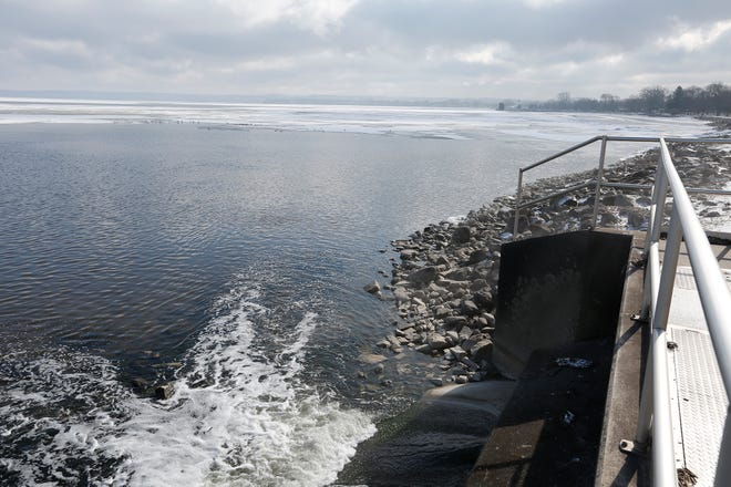 Lower water levels seen on Lake Winnebago is normal for this time of year, according to the Army Corps of Engineers.