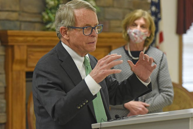 Ohio Gov. Mike DeWine vetoed Senate Bill 22 on Tuesday. The bill would have given the legislature oversight over state health orders.