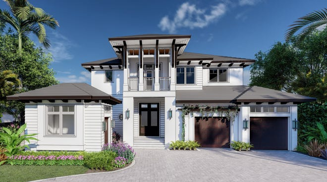 CGU Homes, MHK Architecture and Design and Gulf Coast International Properties have partnered to design and build a custom residence at 401 4th Ave North in the heart of Olde Naples.