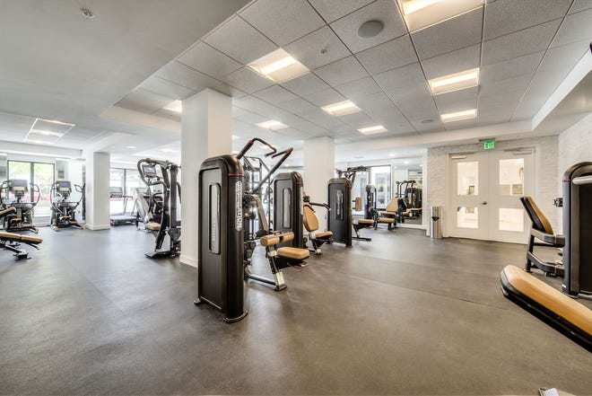 Eleven Eleven Central's fitness center measuring approximately 2,500-square feet will include a stretching and functional movement area, a comprehensive array of state-of-the-art exercise equipment, massage rooms, and rest rooms.
