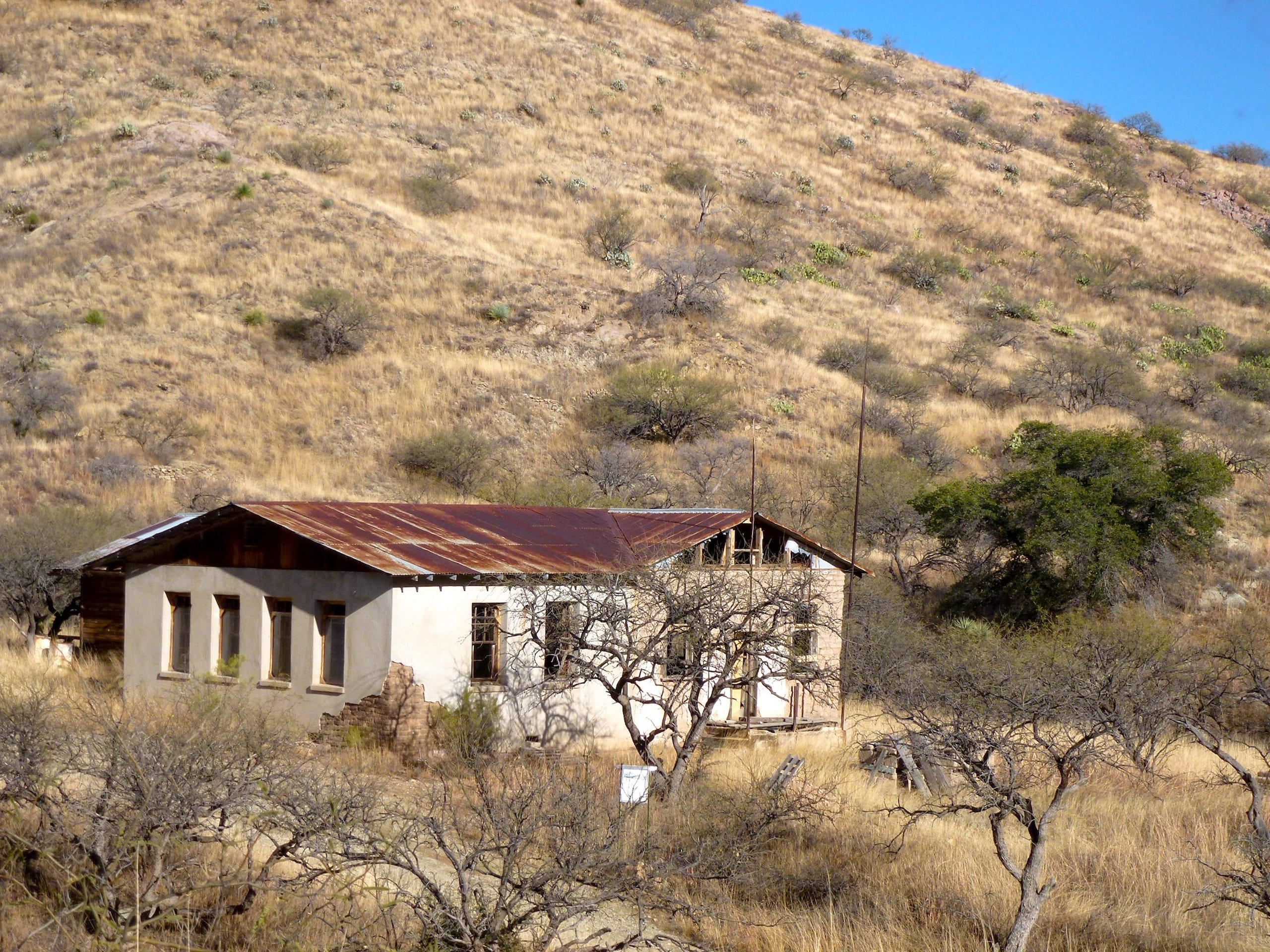 The ghost town of Ruby, Arizona, is open for tours, fishing and camping.
