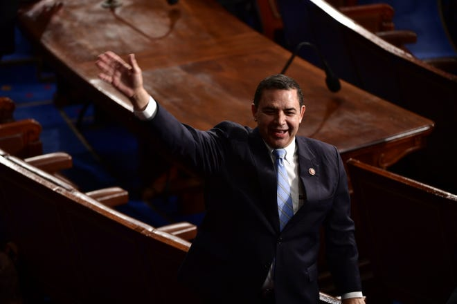 Rep. Henry Cuellar, D-Texas, says the Biden administration has a messaging problem on immigration.
