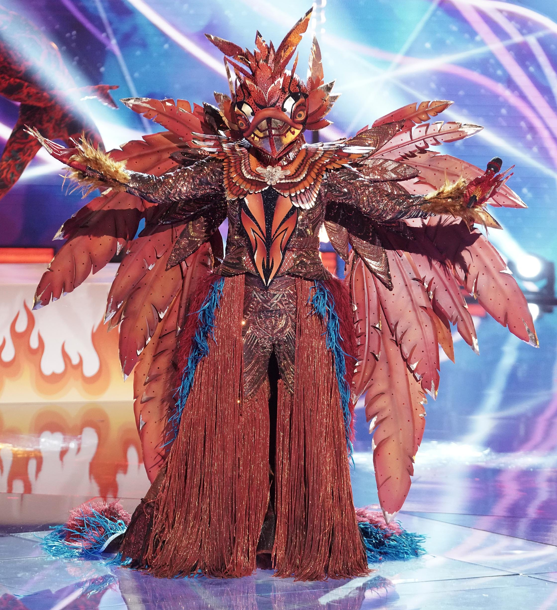 Masked Singer : Phoenix fails to take flight but tried  Keeping Up  with the fierce competition