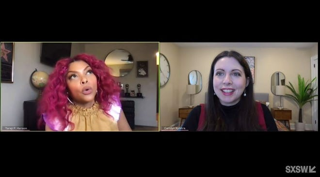 Taraji P. Henson was a featured speaker during SXSW Online on Wednesday, where she talked with the editor-in-chief of SELF magazine about mental health and entrepreneurship during the pandemic.