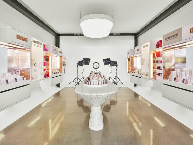 Cosmetic brand Beautycounter recently opened a new store in Venice that doubles as a brick-and-mortar store and livestreaming studio.