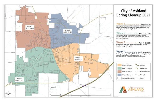 Ashland Spring Cleanup