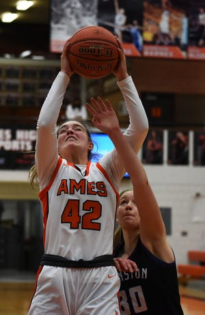 Ames senior Ashley Iiams (pictured) and teammate Caroline Waite were unanimous first-team picks to the all-CIML Iowa teams for 2020-2021. The Little Cyclones totaled five all-conference selections overall.