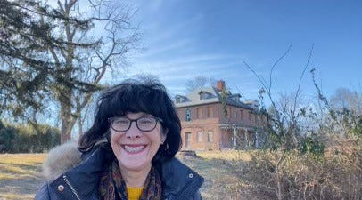"""Robin Robinson's favorite story to tell is the first """"Did You Know…""""  virtually shared on March 24, 2020, about the Grand Duchess of Luxembourg and the creation of Core Creek Park in Middletown Township."""