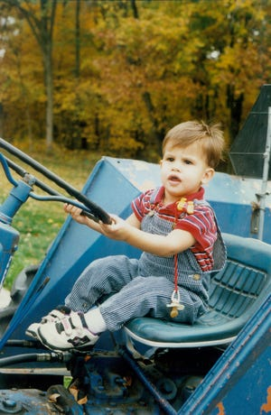As a boy, Jake spent enjoyable hours on his grandparents' farm which manifested into a love for animals, chemistry, and biology. Jake had a natural curiosity and he wanted to know what made nature work. Here, Jake is pictured as a 2-year old.