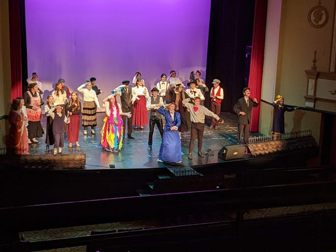 Despite minor setbacks, last year's Mary Poppins show highlighted children's dedication under the Randolph Youth Theatre Company.