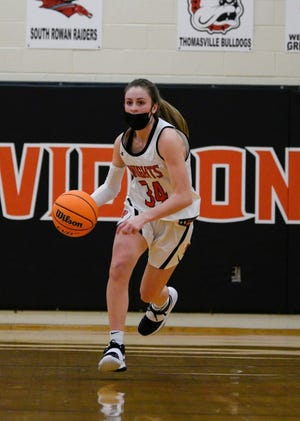 North Davidson's Emily Hege is the 2020-21 Dispatch All-Davidson County player of the year. [Janis Grainger photography]