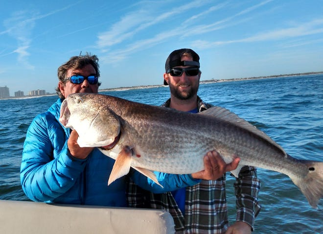 The redfish bite along the river continues to be strong.