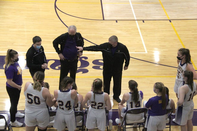 The Bronson Lady Vikings handed the Jonesville Comets their first Big 8 conference loss of the season Tuesday.