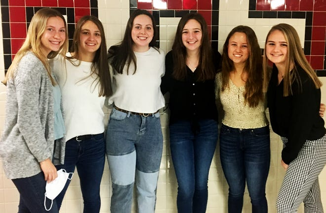 Six members of the Honesdale varsity field hockey teams have been recognized for their outstanding performance in the classroom. Leah Krol, Gina Dell'Aquila, Grace Maxson, Emma Modrovsky, Katy Corcoran and Sarah Meyer have each been honored with a spot on the 2020-21 National Field Hockey Coaches Association Academic All-Star Team.