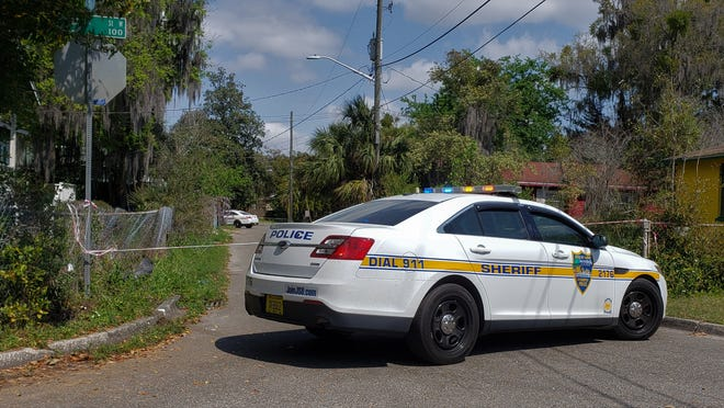 Police blocked off West 25th and 26th streets on Wednesday morning as officers investigated a death there.