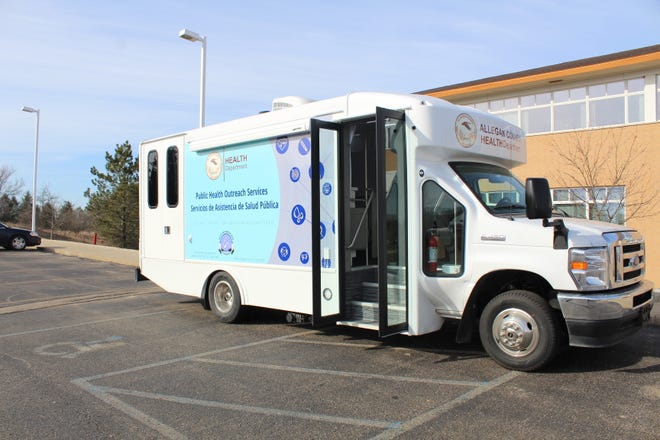 The Gun Lake Tribe donated the funds for this new mobile vaccination van the Allegan County Health Department will use to bring COVID-19 vaccine doses to hard-to-reach populations.