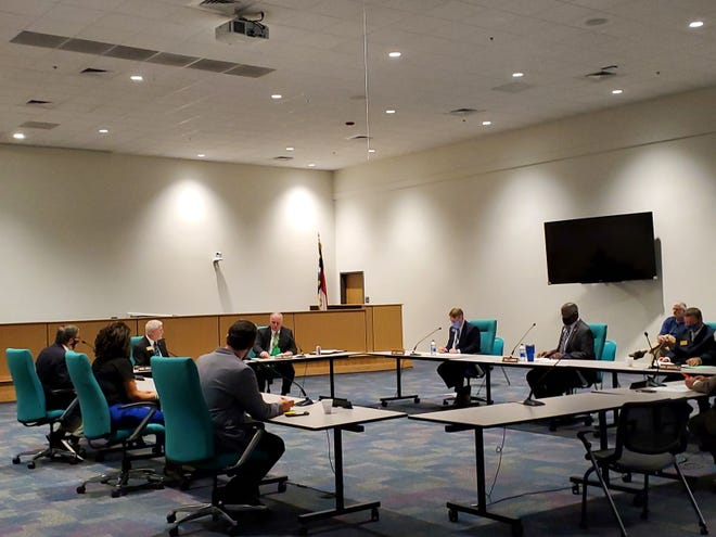 The Onslow County Board of Education approved the transition of full-time in-person learning middle and high school students to begin five days a week starting in April.