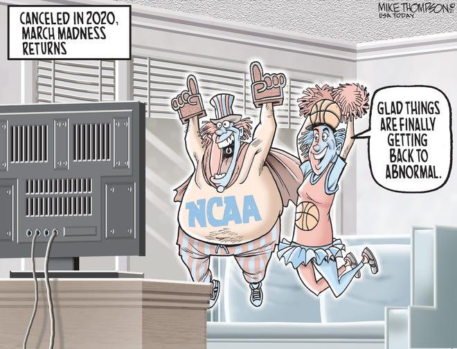 Today's editorial cartoon (March 19, 2021)