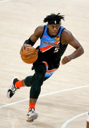 Lu Dort is averaging 12.6 points per game in his second season with the Thunder.