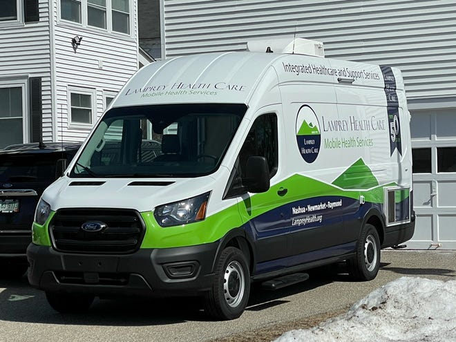 Lamprey Health Care's mobile health van will allow for expanded healthcare services outside of medical offices.