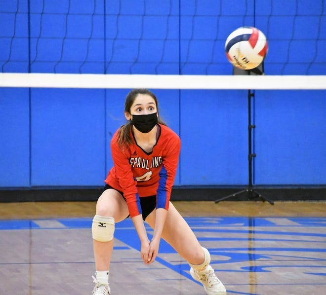 Spaulding's April Beatty is one of 12 nominees who are up for Seacoast Volleyball Player of the Year.