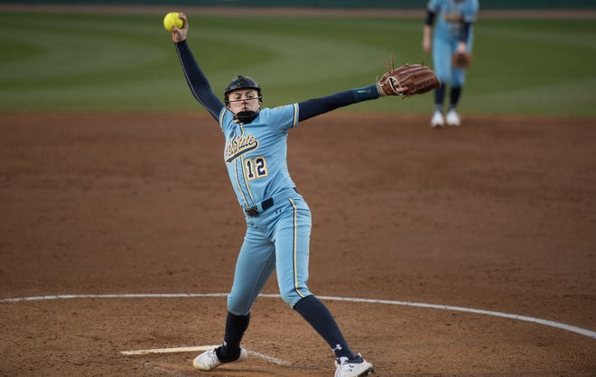 Freshman Jessica LeBeau will head into the Mid-American Conference season this weekend as the Kent State softball team's No. 1 pitcher.