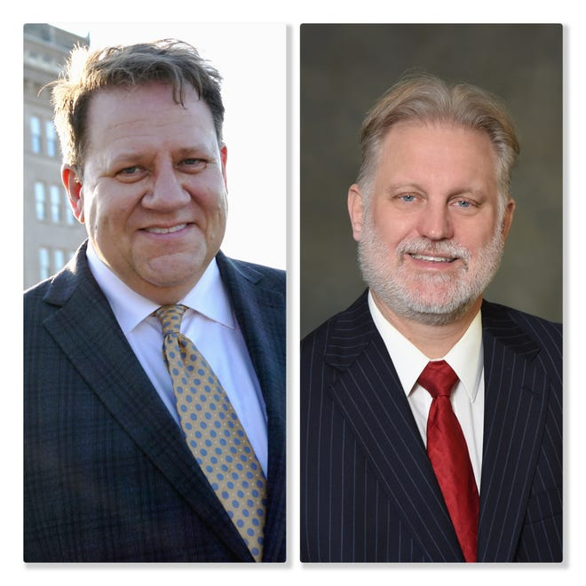 Democrat Mark Bonne and Republican Mark Stefanic are running for 14th Ward alderman in the April 6 consolidated election.