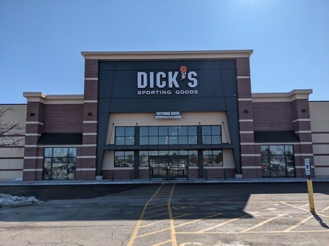 Rockford's new Dick's Sporting Goods store is located at 6649 E. State St.