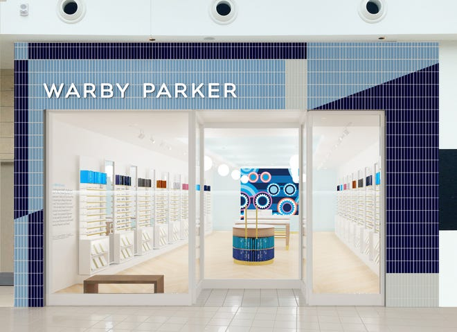 Warby Parker is opening its new location on Saturday at the Mall at University Town Center.