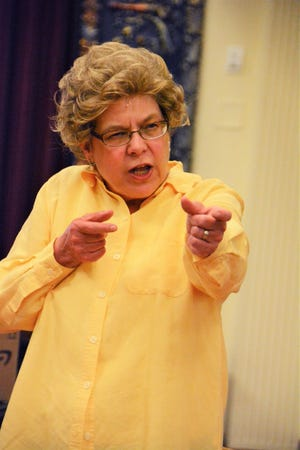 "Felicia Coulter plays Dr. Ruth Westheimer in ""Becoming Dr. Ruth."""