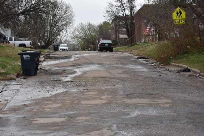 In the early stages of a rehabilitation project, Whittaker Street in Shawnee, between Center and Draper, will soon be improved.