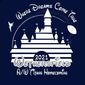 The logo for this year's Wethersfield High School homecoming.
